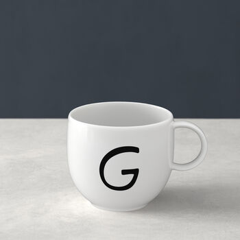 Letters Mug G 13x10x8cm
