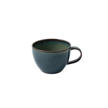 Crafted Breeze coffee cup, grey-blue, 250 ml