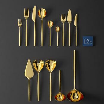 MetroChic d'Or Cutlery set 113pcs lunch