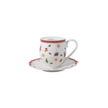 Toy's Delight Decoration candle holder mug, 10 x 6 cm
