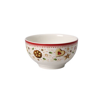 Winter Bakery Delight bowl with falling star motif