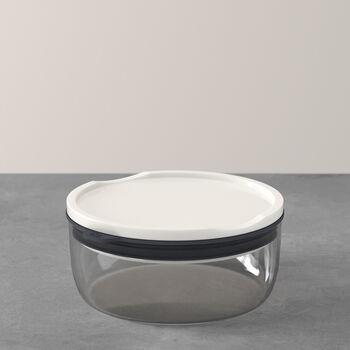 ToGo&ToStay lunch box, 13 x 6 cm, round, grey