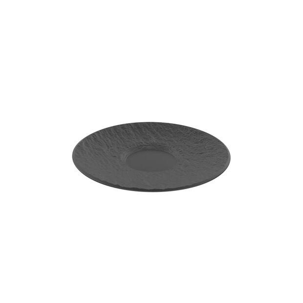 Manufacture Rock saucer, black/grey, 15.5 x 15.5 x 2 cm, , large
