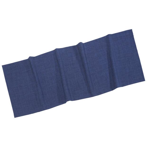 Textil Uni TREND Runner d'blue 50x140cm, , large