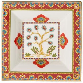Samarkand Accessories square bowl