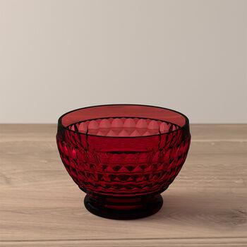Boston Coloured Dessert bowl Red