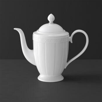 White Pearl coffee pot 6 people