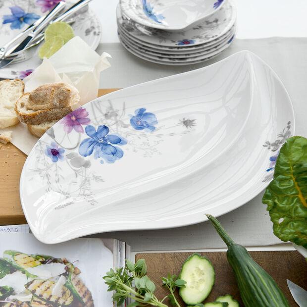 Mariefleur Gris Serve & Salad serving plate, , large