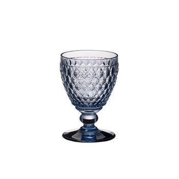 Boston Coloured White wine glass Blue