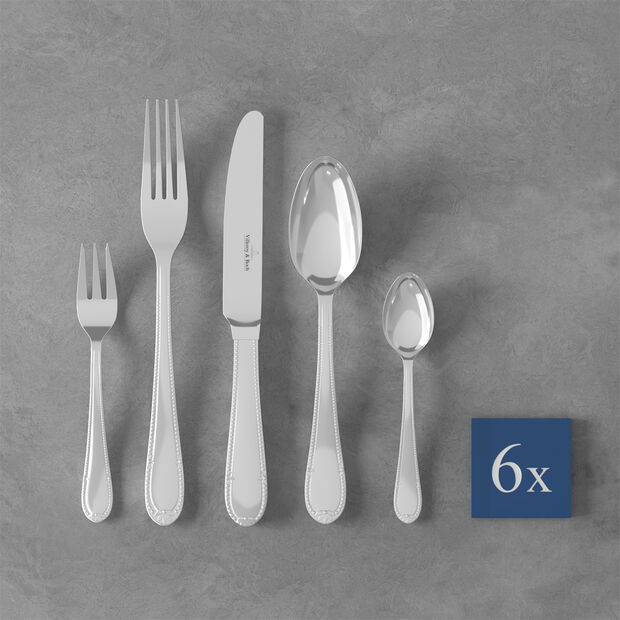 Mademoiselle Cutlery set 30pcs 44x28x5cm, , large