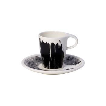 Coffee Passion Awake Doppio espresso cup with saucer, 2 items