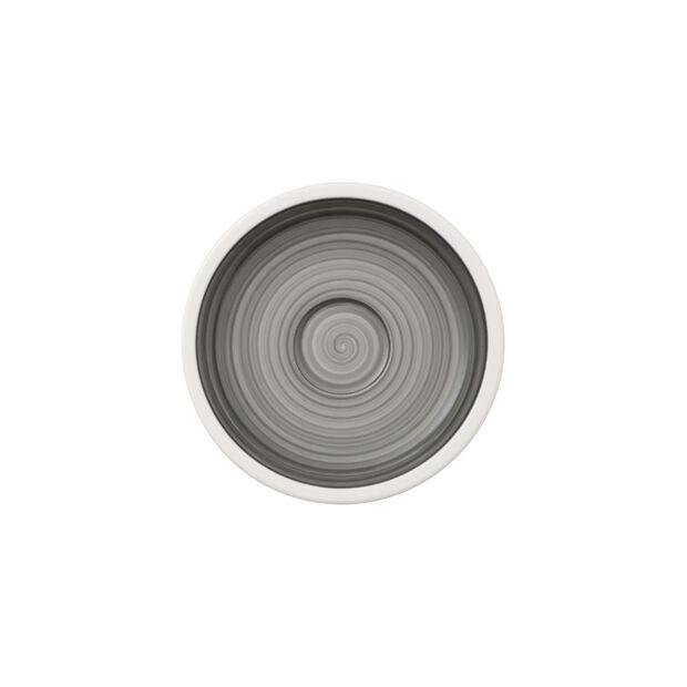 Manufacture gris mocha/espresso cup saucer, , large