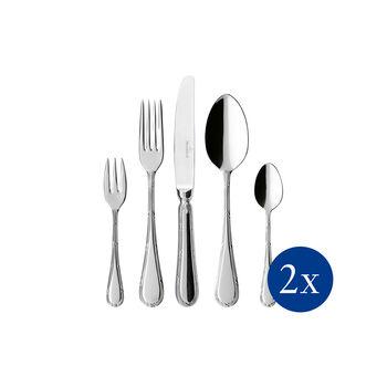 Kreuzband Septfontaines table cutlery 30 pieces 42 x 27 x 5 cm