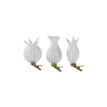 Bunny Tales vase as tree decoration, 3 pieces