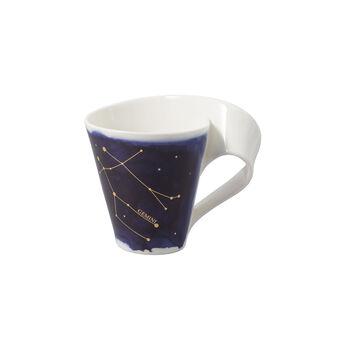NewWave Stars mug Gemini, 300 ml, blue/white