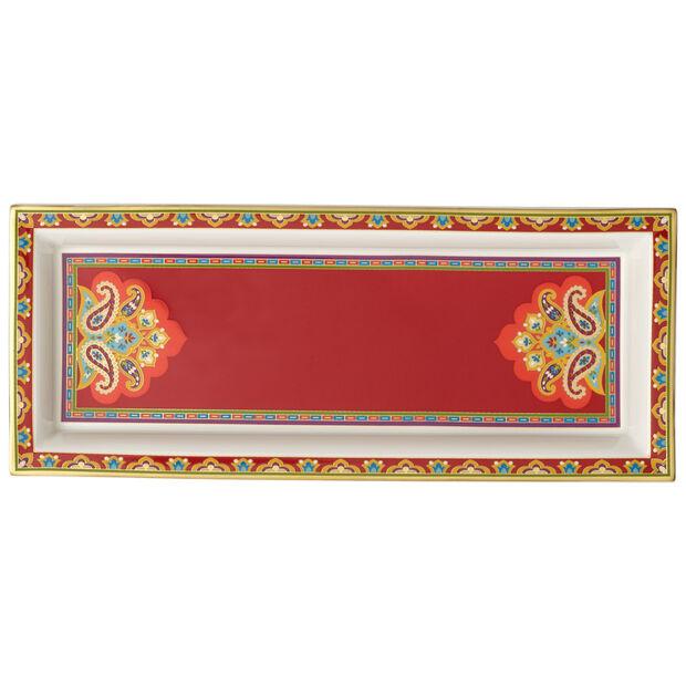 Samarkand Accessories Bowl rectangular 25x10cm, , large