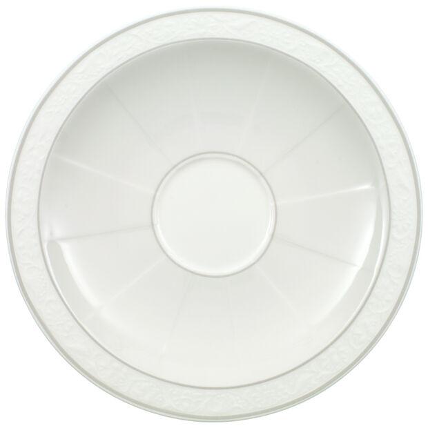 Gray Pearl coffee/tea cup saucer, , large