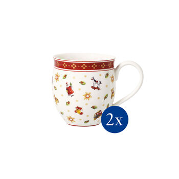 Toy's Delight toys coffee mug 2-piece set