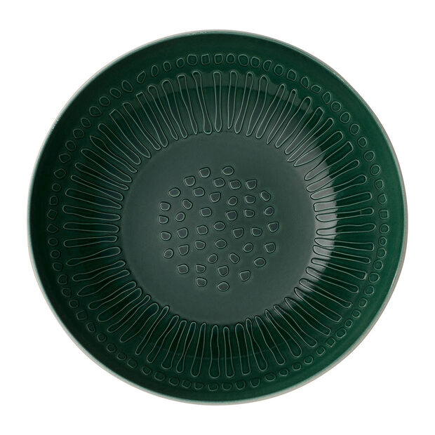 it's my match Green serving bowl Blossom, , large