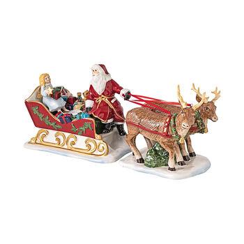 Christmas Toys sleigh Nostalgia, 36 x 14 x 17 cm