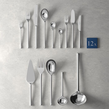 Udine lunch table cutlery 113 pieces