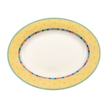 Twist Alea Limone oval plate 41 cm