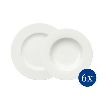 Royal plate set 12 pieces