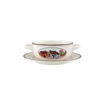 Design Naif Soup cup & saucer 2pcs