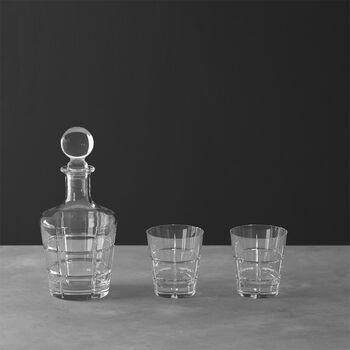 Ardmore Club whisky set, 3 pieces