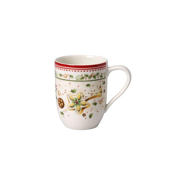 Winter Bakery Delight falling star coffee mug, , large