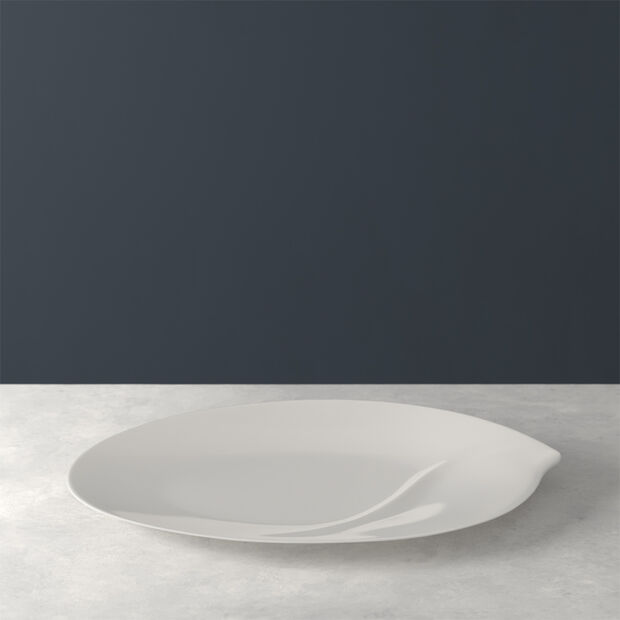 Flow oval plate 47 cm, , large