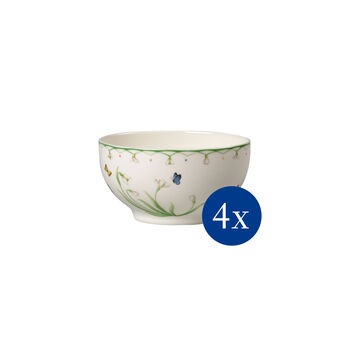 Colourful Spring bowl, 750 ml, 4 pieces