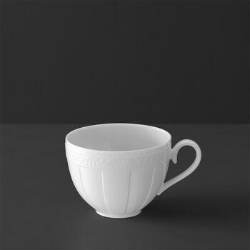 White Pearl tea/coffee cup
