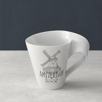 Modern Cities coffee mug, Amsterdam, 300 ml
