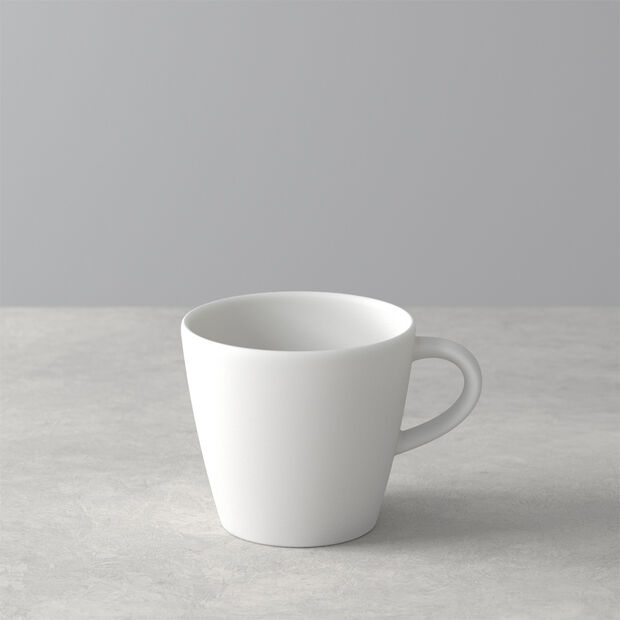 Manufacture Rock Blanc coffee cup, white, 10.5 x 8 x 7.5 cm, , large