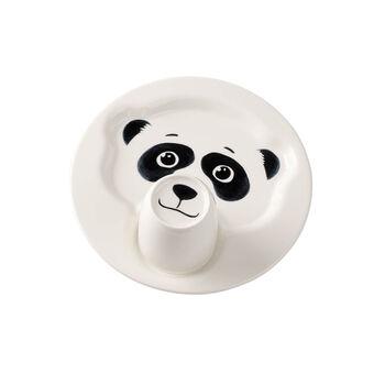 Animal Friends Plate with mug, panda 22cm