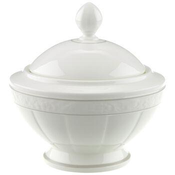 Gray Pearl sugar bowl 6 people