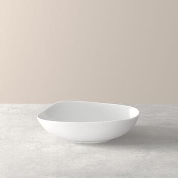 Organic White Deep plate 20 x 18 x 5,5cm
