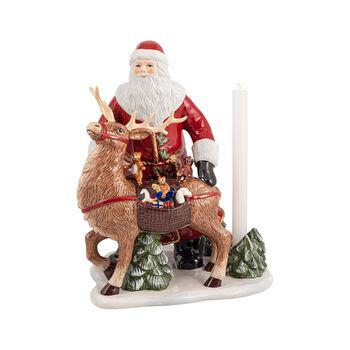 Christmas Toys Memory Santa with stag, 30 x 24 x 35 cm