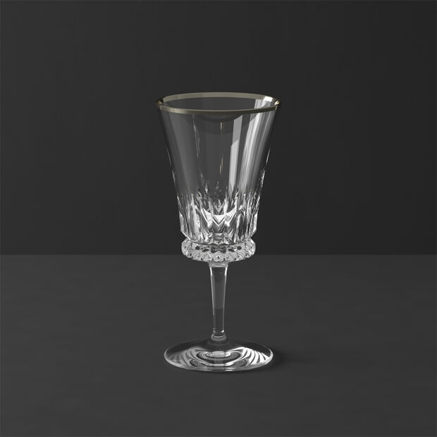 Grand Royal White Gold Water goblet 200mm, , large