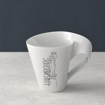 Modern Cities coffee mug, Luxembourg, 300 ml