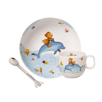 Happy as a Bear Children's crockery set, 3 pcs.