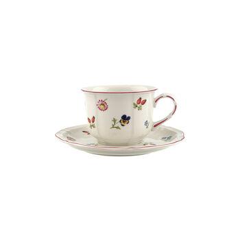 Petite Fleur cappuccino 2-piece set