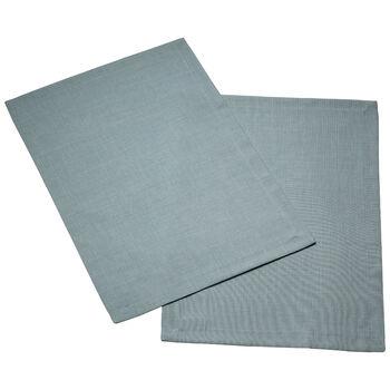 Textil Uni TREND Placemat  blue fox Set 2 35x50cm