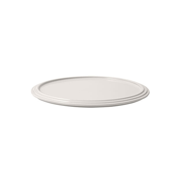 Iconic serving plate, white, 24 x 1 cm, , large