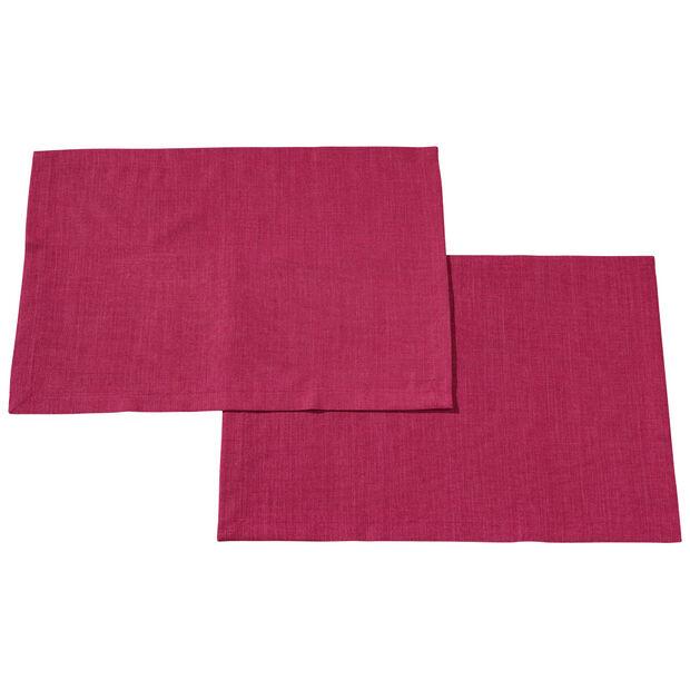 Textil Uni TREND Placemat Red Plum S2 35x50cm, , large