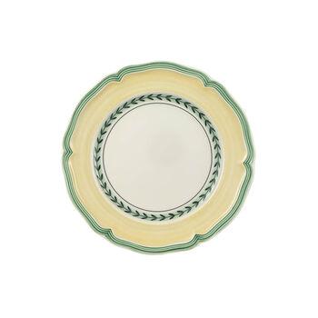 French Garden Vienne breakfast plate