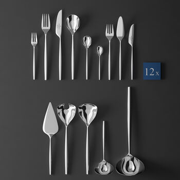 MetroChic cutlery, 113 pieces, Lunch