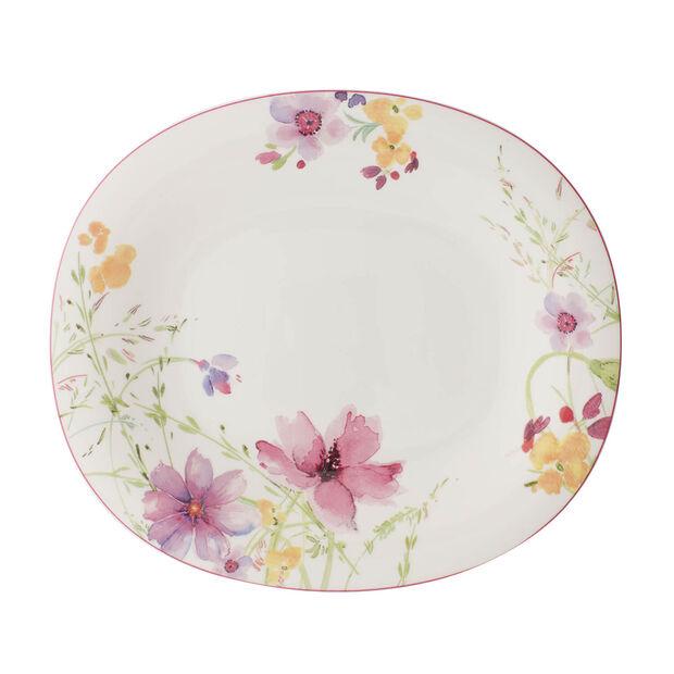 Mariefleur Basic oval dinner plate, , large