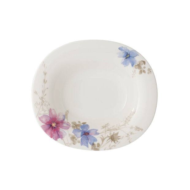 Mariefleur Gris Basic oval soup plate, , large